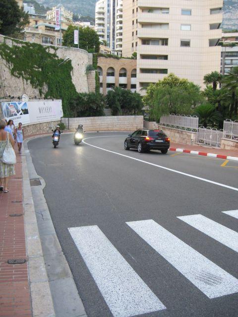 Monaco F1 Mirabeau Bas turn zakręt